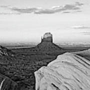 Sunset At Monument Valley, Monument Art Print