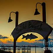 Sunset At Snooks Bayside Art Print