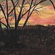 Sunset At Spring City Tenn Art Print