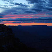 Sunset At The Grand Canyon Art Print