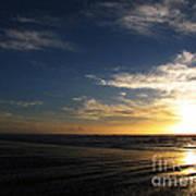 Sunset At Westport Beach Art Print