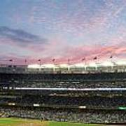 Sunset At Yankee Stadium Art Print