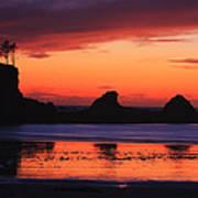 Sunset Bay Sunset 2 Art Print