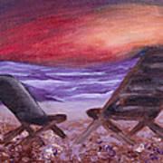Sunset Bliss Art Print