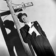 Sunset Boulevard, William Holden 1950 Art Print