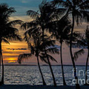 Sunset Breeze Art Print