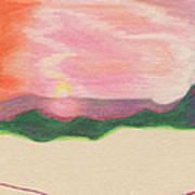Sunset By Jrr Art Print