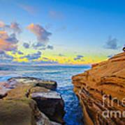 Sunset Cliffs Ave Art Print
