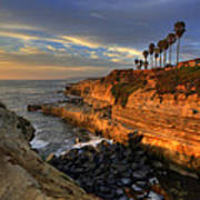 Sunset Cliffs Art Print