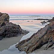Sunset  Denhams Beach. Art Print