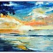 Sunset Drama Art Print