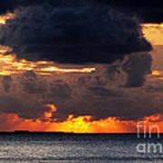Sunset Florida Keys Art Print