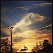 #sunset #gorg #nature Art Print