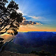 Sunset Grand Canyon Art Print