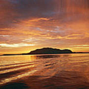 Sunset In Alesund Art Print by Christine Rivers