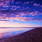 Sunset In Cape Cod Boston Massachusetts  Art Print