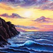 Sunset In Colors Art Print