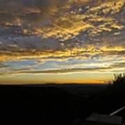 Sunset In Taos Art Print