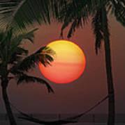 Sunset In The Keys Art Print