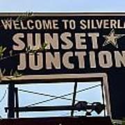 Sunset Junction Art Print
