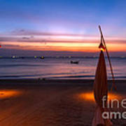 Sunset Lanta Island  Art Print