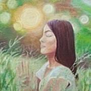 Sunset Meditation Art Print