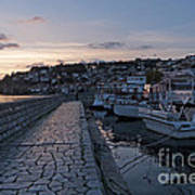 Sunset - Ohrid - Macedonia Art Print