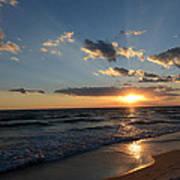 Sunset On Alys Beach Art Print