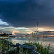 Sunset On Tampa Bay Art Print