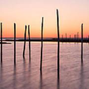 Sunset On The Bay I Art Print