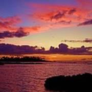 Big Island Sunset - Hawaii Art Print
