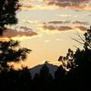 Sunset On Washington Art Print