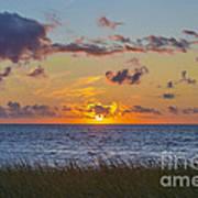 Sunset Over Cape Cod Bay Art Print