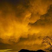 Sunset Over Manitou Springs Colorado Art Print