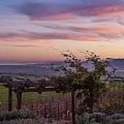 Sunset Over Sonoma Coast Art Print