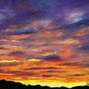 Sunset Art Print by Prashant Shah