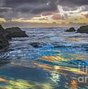 Sunset Reflections Art Print by Robert Bales