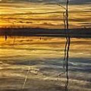 Sunset Riverlands West Alton Mo Dsc03317 Art Print