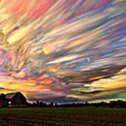 Sunset Spectrum Art Print by Matt Molloy