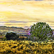 Sunset Verde Valley Thousand Trails Art Print