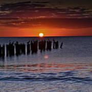 Sunset...naples Style Art Print