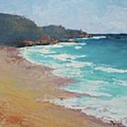 Sunshine Beach And Lions Head Noosa Heads Queensland Art Print