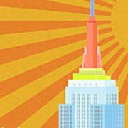 Sunshine City Art Print