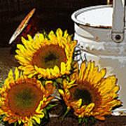 Sunshine From The Garden Art Print