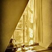 Sunshine Through The Window Art Print