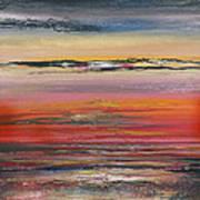 Sunst Series Hauxley Haven Art Print