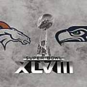 Super Bowl Xlvlll Art Print