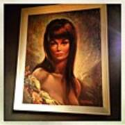 Super Painting At #dublin Wine Rooms Art Print
