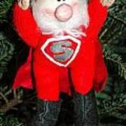 Super Santa Art Print