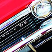 Super Sport 2 - Chevy Impala Classic Car Art Print